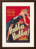 Hubba Hubba - Vegetable Crate Label