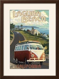 Laguna Beach  California - VW Van Cruise
