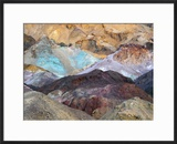 Artist Palette  Artist Drive  Death Valley National Park  California  USA