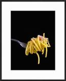 Spaghetti Alla Carbonara  Italian Pasta Dish Based on Eggs  Cheese  Bacon and Black Pepper  Italy
