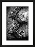 Buildings - Stairs - Emergency - New York City - United States