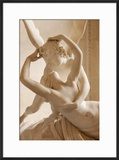 Canova's Statue 'Psyche Revived by Cupid's Kiss' Musee Du Louvre  Paris  France