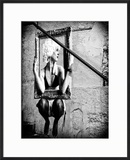 Street Art  Murals Style  French Artist  Paris  France  Black and White Photography