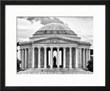 The Thomas Jefferson Memorial  Washington DC  District of Columbia  Black and White Photography