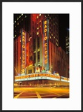 Radio City Music Hall  Manhattan  New York  USA