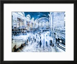 Urban Vibrations Series  Fine Art  Grand Central Terminal  Manhattan  New York City  United States