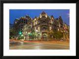 The Historic Driskell Hotel at Dusk  Austin  Texas  USA