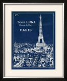 Blueprint Eiffel Tower