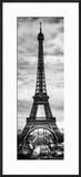 Instants of Paris B&W Series - Eiffel Tower  Paris  France