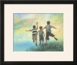 Three Brothers Leaping