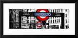 The Underground Signs - Subway Station Sign - City of London - UK - England - United Kingdom