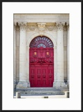 Doors to Saint Paul-Saint Louis Church in the Marais  Paris  France