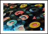Collection of Vinyl Records  Wildwood  New Jersey  Usa