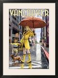 Rain Girl Pinup - Vancouver  BC