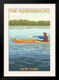The Adirondacks  New York State - Kayak Scene