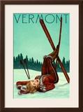 Vermont - Pinup Skier