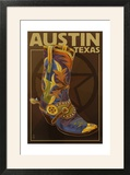 Austin  Texas - Boot and Star