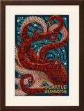 Seattle  Washington - Octopus Mosaic