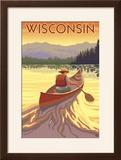 Wisconsin - Canoe Scene
