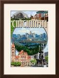Cincinnati  Ohio - Montage Scenes