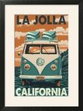 La Jolla  California - VW Van