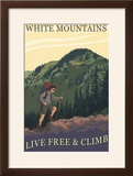 White Mountains  New Hampshire - Live Free and Climb Hiker Scene