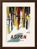 Aspen  CO - Colorful Skis