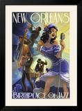 Jazz Scene - New Orleans  Louisiana