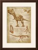 Tyrannosaurus Rex Dinosaur - DiVinci Style