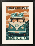 San Francisco  California - VW Van
