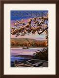 Wisconsin - Lake at Dusk
