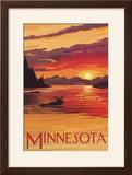 Minnesota - Moose Swimming