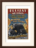 Ellijay  Georgia - Black Bear Vintage Sign