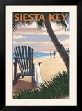 Siesta Key  Florida - Adirondack Chair on the Beach