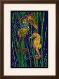 Seahorses - Paper Mosaic