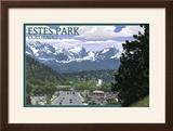 Estes Park  Colorado - Town Scene
