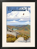 Blue Ridge Parkway - Peaks of Otter in Fall