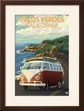 Palos Verdes  California - VW Van