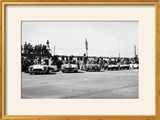 Chevrolet Corvettes at the Sebring 12-Hour Race  Florida  USA  1958