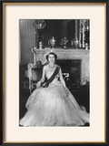 HM Queen Elizabeth II at Buckingham Palace  12th March 1953