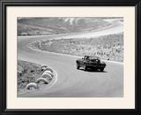1964 Chevrolet Corvette Stingray on a Winding Racetrack  (C1964)