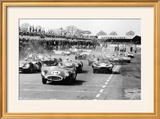 Scene at the Start of a Sports Car Race  Silverstone  Northamptonshire  (Late 1950S)
