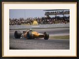 Bruce Mclaren's Mclaren-Ford  Spanish Grand Prix  Jarama  Madrid  1968