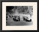 The Start of the Monaco Grand Prix  Monte Carlo  1961