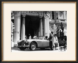 Aston Martin DB2-4 Outside the Hotel Carlton  Cannes  France  1955