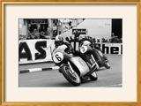 Giacomo Agostini on Bike Number 6  Tom Dickie on Bike Number 3  Isle of Man Junior TT  1968