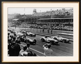 Start of the British Grand Prix  Aintree  Liverpool  1955