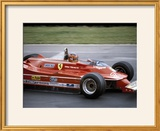Gilles Villeneuve Racing a Ferrari 312T5  British Grand Prix  Brands Hatch  1980
