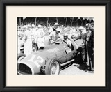 Alberto Ascari at the Wheel of a 45 Litre Ferrari  Indianapolis  1952