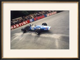 Jean-Pierre Beltoise Driving a Matra  Belgian Grand Prix  Spa-Francorchamps  1968